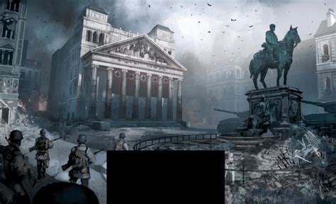 New Call of Duty: WWII Concept Arts / Image shown in EDGE