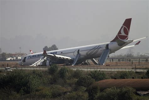 Turkish Airlines flight with 238 people on board crash